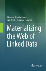 Omslag - Materializing the Web of Linked Data