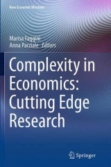 Omslag - Complexity in Economics: Cutting Edge Research