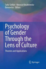 Omslag - Psychology of Gender Through the Lens of Culture