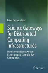 Omslag - Science Gateways for Distributed Computing Infrastructures