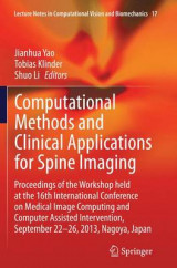 Omslag - Computational Methods and Clinical Applications for Spine Imaging