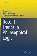 Omslag - Recent Trends in Philosophical Logic