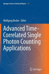 Omslag - Advanced Time-Correlated Single Photon Counting Applications