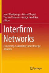 Omslag - Interfirm Networks