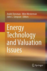 Omslag - Energy Technology and Valuation Issues