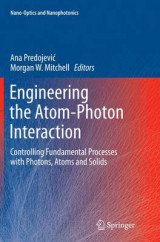 Omslag - Engineering the Atom-Photon Interaction