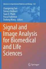 Omslag - Signal and Image Analysis for Biomedical and Life Sciences