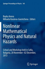 Omslag - Nonlinear Mathematical Physics and Natural Hazards