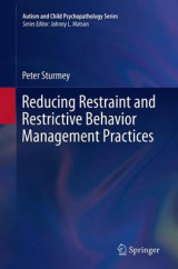 Omslag - Reducing Restraint and Restrictive Behavior Management Practices