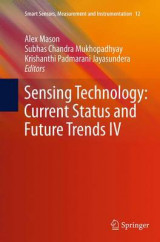 Omslag - Sensing Technology: Current Status and Future Trends IV