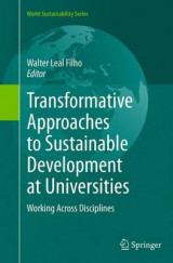 Omslag - Transformative Approaches to Sustainable Development at Universities