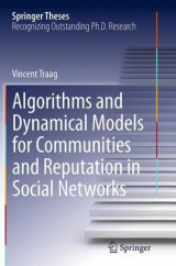 Omslag - Algorithms and Dynamical Models for Communities and Reputation in Social Networks