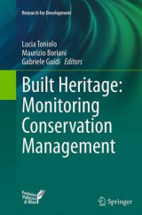 Omslag - Built Heritage: Monitoring Conservation Management