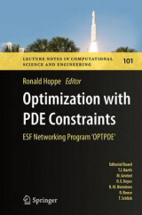 Omslag - Optimization with PDE Constraints