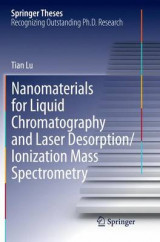Omslag - Nanomaterials for Liquid Chromatography and Laser Desorption/Ionization Mass Spectrometry