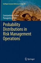 Omslag - Probability Distributions in Risk Management Operations
