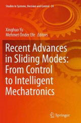 Omslag - Recent Advances in Sliding Modes: From Control to Intelligent Mechatronics