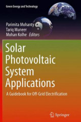 Omslag - Solar Photovoltaic System Applications