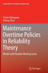 Omslag - Maintenance Overtime Policies in Reliability Theory