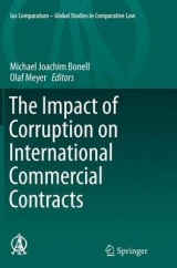 Omslag - The Impact of Corruption on International Commercial Contracts