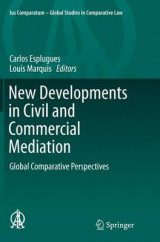 Omslag - New Developments in Civil and Commercial Mediation