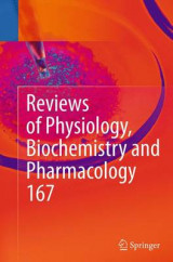 Omslag - Reviews of Physiology, Biochemistry and Pharmacology: Volume 167