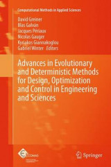 Omslag - Advances in Evolutionary and Deterministic Methods for Design, Optimization and Control in Engineering and Sciences