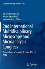 Omslag - 2nd International Multidisciplinary Microscopy and Microanalysis Congress