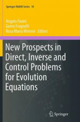 Omslag - New Prospects in Direct, Inverse and Control Problems for Evolution Equations