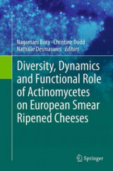 Omslag - Diversity, Dynamics and Functional Role of Actinomycetes on European Smear Ripened Cheeses