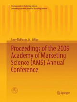 Omslag - Proceedings of the 2009 Academy of Marketing Science (AMS) Annual Conference
