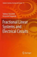 Omslag - Fractional Linear Systems and Electrical Circuits