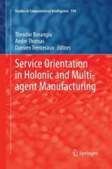 Omslag - Service Orientation in Holonic and Multi-Agent Manufacturing