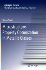 Omslag - Microstructure-Property Optimization in Metallic Glasses