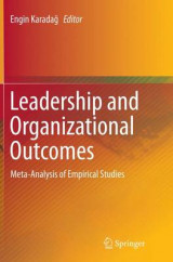 Omslag - Leadership and Organizational Outcomes