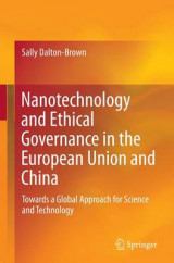 Omslag - Nanotechnology and Ethical Governance in the European Union and China
