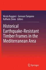 Omslag - Historical Earthquake-Resistant Timber Frames in the Mediterranean Area