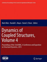 Omslag - Dynamics of Coupled Structures 2015: Volume 4