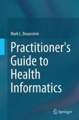 Omslag - Practitioner's Guide to Health Informatics