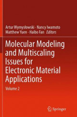 Omslag - Molecular Modeling and Multiscaling Issues for Electronic Material Applications: Volume 2