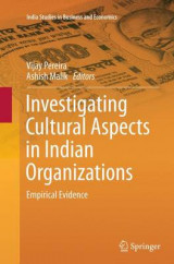 Omslag - Investigating Cultural Aspects in Indian Organizations
