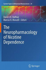 Omslag - The Neuropharmacology of Nicotine Dependence