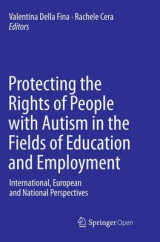 Omslag - Protecting the Rights of People with Autism in the Fields of Education and Employment