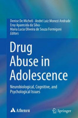 Omslag - Drug Abuse in Adolescence