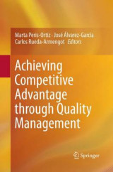 Omslag - Achieving Competitive Advantage Through Quality Management