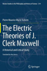 Omslag - The Electric Theories of J. Clerk Maxwell
