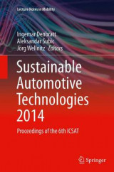 Omslag - Sustainable Automotive Technologies 2014