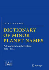 Omslag - Dictionary of Minor Planet Names