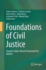 Omslag - Foundations of Civil Justice