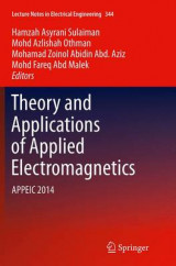 Omslag - Theory and Applications of Applied Electromagnetics